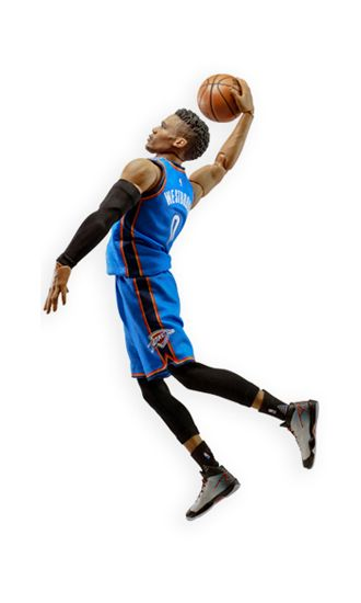 ENTERBAY MOTION MASTERPIECE 1/9 MM-1203 RUSSELL WESTBROOK NBA COLLECTION ACTION FIGURE SITO